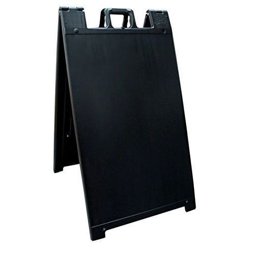 """Signicade® Deluxe - 24"""" x 36"""", Double Sided, A-Frame Sidewalk Sign, """"Sandwich Board"""""""