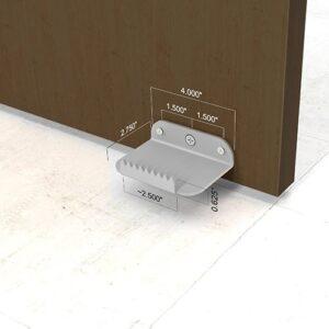 Hands Free Door Opener - Steel Construction - Silver